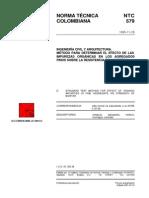 NTC 579 Método para Determinar el Efecto de las Impurezas Orgánicas en los Agregados Finos sobre la Resistencia del Mortero