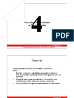 ORACLE SQL DBA Leccion 04 (Español)