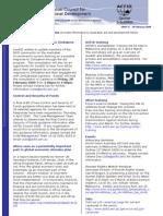 Acfid Sector Ebulletin 2009 5