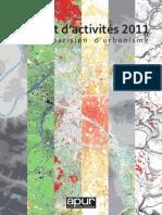 Apur Rapport Activites 2011