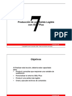 ORACLE SQL DBA Leccion 07 (Español)