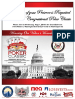 2014 Congressional Poker Classic