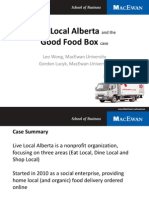 ASAC 2012 Case Track - Good Food Box