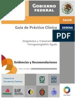 Guia de practica clinica Faringoamigdalitis