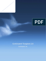 Continuent Tungsten 2.0