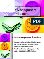 Labor Management