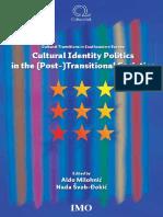 Cultural Identity Politics