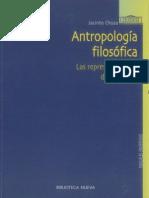 Choza-Antropologia Filosófica-Las representaciones del sí mismo