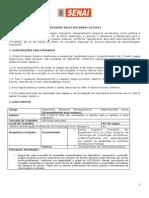 SENAI - Processo Seletivo - SENAI 01-2014