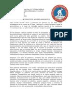 Analisis Del Principe de Nicolas Maquiavelo.