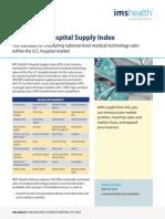 IMS Hospital Supply Index