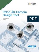 Pelco 3D Camera Design Tool User Guide v3.6.1