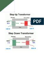 Step Up Step Down Transformer