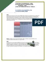Características de la memoria ROM y RAM