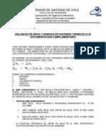 E20 Balance De Materia y EnergÃ-a, Material Complementario