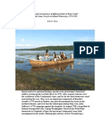 """""""'The uses and conveniences of different kinds of Water Craft'"""