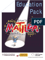 Matilda a Musical Education Pack