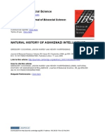 NATURAL HISTORY OF ASHKENAZI INTELLIGENCE