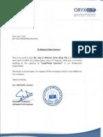 Faiz Letter Scan