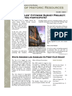 L.A. Office Of Historic Resources July 2007 Newsletter