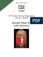 17th Ed 2382 Q Paper 3 - Q
