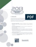 Informativo General 2013
