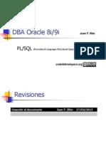 DBA Oracle Pl SQL