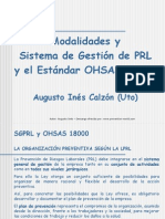 SGPRL OHSAS 18001