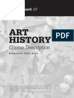AP Art History 2012 Course Exam Description