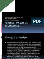 Administración de yacimientos