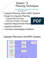 10 Lect14 Capacity Planning Techniques