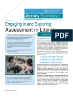 Assessment for Literacy EE