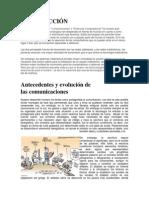 Antecedentes y evolución de las comunicaciones y redes de computadoras