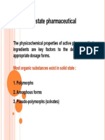Solid State Pharmaceutical