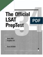 LSAT PrepTEST