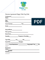 Day Camp Form