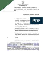 Petição Alimentos (modelo - 02)