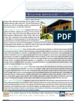 Home Rule for Advocates Two Pager