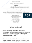 Handout to Teacher on piracy