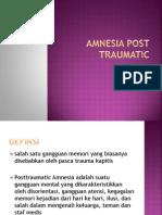 Amnesia Post Traumatic Ayu