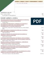 Revista Sul-americana de Ciência Política-Dossiê América Andina