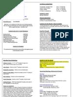 February 2014 Bulletin Insert