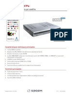 FicheProduit Sagem ISD74