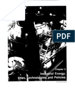 Chapter 3 Industrial Energy Uses Technologies Policies
