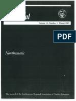 (210032684) SRATE Journal Training Teachers in Classroom Management