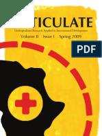 Volume II, Issue I, Spring 2009