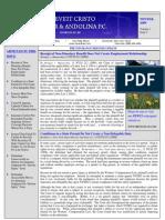 Newsletter Winter 08 09