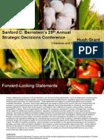 Sanford C. Bernstein's 29th Annual Strategic Decisions Conference