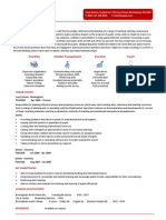Teacher CV Example 2 1 Page