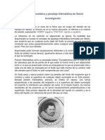 Presión Hidrostática y paradoja hidrostática de Stevin